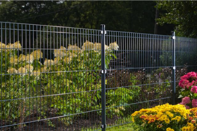 Doppelstabmatte Gartenzaun Zaunsystem Hausham Hannover